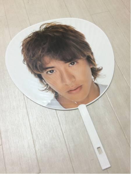 【雑貨】SMAP木村拓哉02.7.24うちわ約28cm×約30cm コンサートグッズの画像