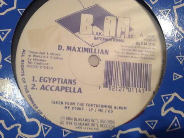 ■D Maximillian/Egyptians■KILLER DIGI ROOTS!