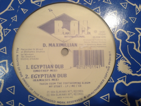 ■D Maximillian/Egyptians■KILLER DIGI ROOTS!_画像2