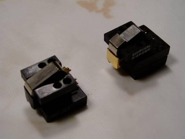 手工品 カーボングラファイト製SPU用スペーサー_磁石形状が右側の物は取付不可です。