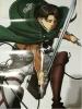 進撃の巨人 リヴァイ&ミカグラ学園組曲 ポスター グッズ 付録 非売品 特大サイズ