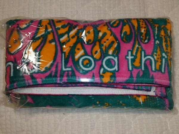 新品●Fear,and Loathing in Las Vegas タオル 緑×オレンジ☆ラスベガス SiM ロットングラフティー coldrain WANIMA 10-FEET