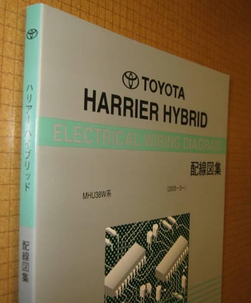 harrier hybrid wiring diagram compilation 2008 year 12 month last version  *3mz-fe engine wiring etc , electric wiring service book