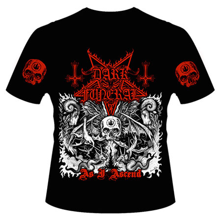【DARK FUNERAL】Tシャツ 赤 S LOUD PARK 16 ダークフューネラル 定価以下!