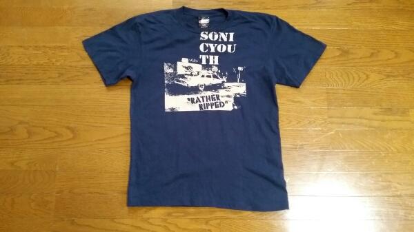 未着用!ソニックユースSONIC YOUTH日本公演購入Tシャツ!NIRVANAサーストンムーア