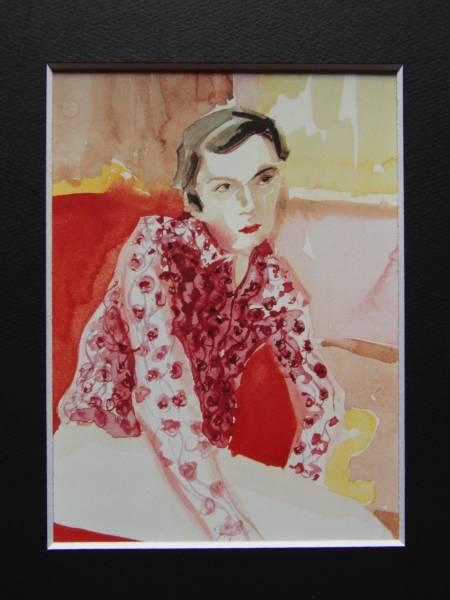 Elizabeth Peyton、Erian Epstein、希少画集画、新品額装付_画像3