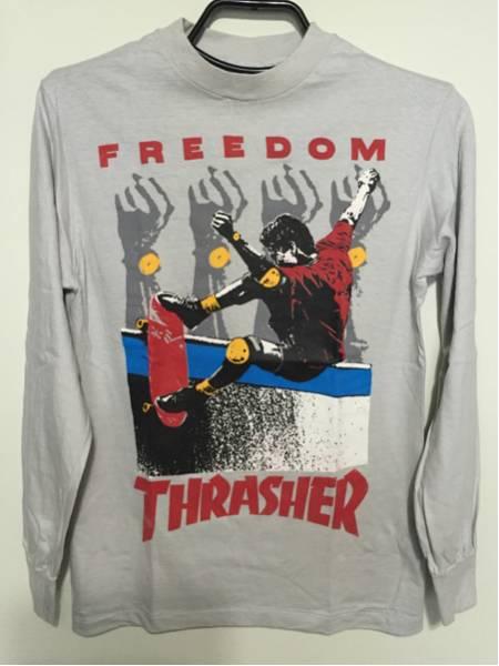 80s Thrasher magazine オールド ビンテージ スケートボード ロンT 新品未使用品 デッド DEAD Santa Cruz powell zorlac Buttstain