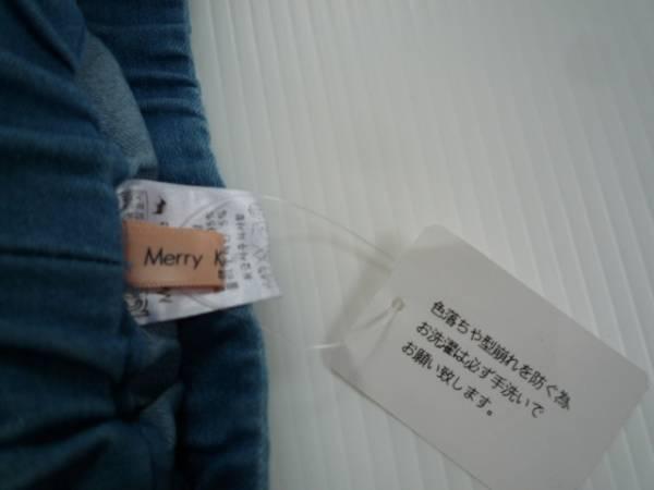 【新品・半額】■Merry Kate■韓国子供服 裾ビジューデニム S_画像3