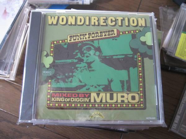 新品MIXCD DJ MURO / DJムロ / WONDIRECTION free soul dev large raregroove STEVIE WONDER_画像1