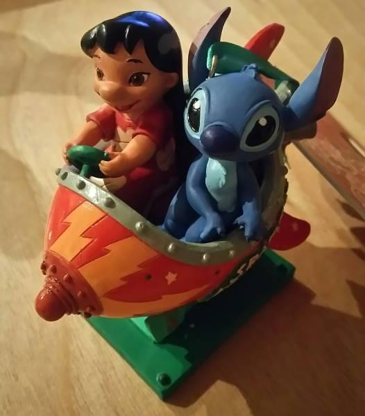 ディズニーストア オーナメント リロ&スティッチ クリスマス ディズニーグッズの画像