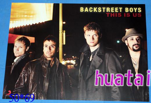 Backstreet Boys バックストリート・ボーイズ This Is Us 告知ポスター