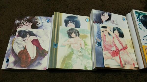 ★おくさまは女子高生★1~4巻(3冊初版)(3冊postcard付)★即決_画像2