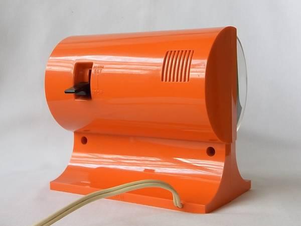 SEIKO パタパタ時計 セイコー オレンジ (スペースエイジ_画像3