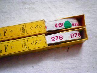 即決*アンティーク*ナンバーテープ・278/460セット(2)_画像1