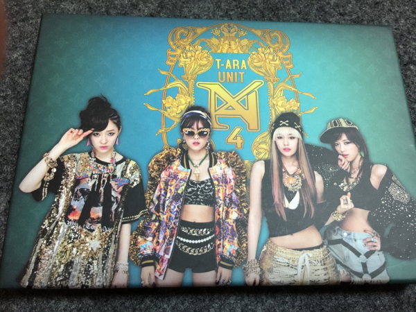 T-ARA N4 アルバム 韓国盤 ウンジョン ヒョミン ジヨン アルム(※かんたん決済対応しておりません)