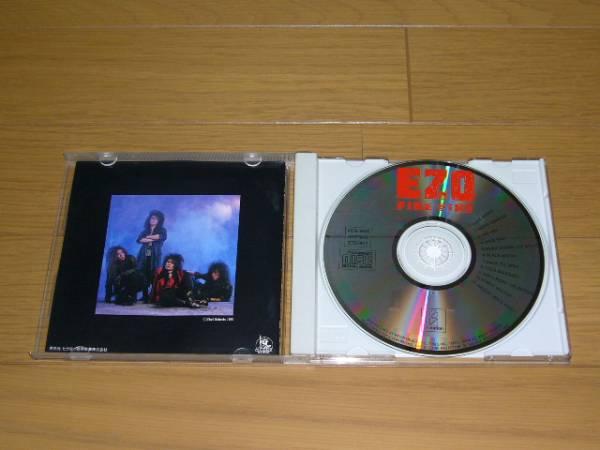 国内盤 帯ナシ EZO /FIRE FIRE 1989年盤 全11曲
