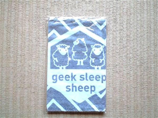新品未開封 geek sleep sheep 羊 タオル / YUKI L'Arc-en-Ciel MO'SOME TONEBENDER