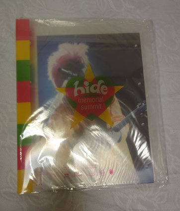hide メモリアルサミット パンフレット バッグ HIDE X JAPAN