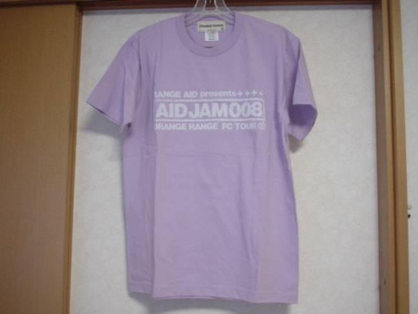 切手OK☆オレンジレンジ Tシャツ☆FCツアー AID JAM 008 紫