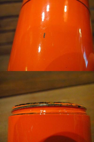 ビンテージ60's70's★ソルト&ペッパー橙★50's80'sレトロ雑貨卸_画像3