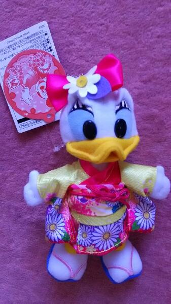 TDL★ディズニーランド☆お正月☆デイジーちゃんぬいば♪ ディズニーグッズの画像