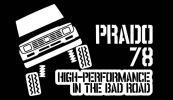 ランクルプラド 78 カッティングステッカー クロカン PRADO 4WD トヨタ ランドクルーザー ステンシル オフロード