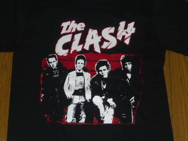 新品ザ・クラッシュtシャツ the clas パンク ジョーストラマー