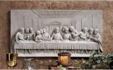 レオナルドダヴィンチ 最後の晩餐 壁掛け壁画置物歴史博物館レリーフルネサンス芸術作品イタリア美術インテリア雑貨オブジェ