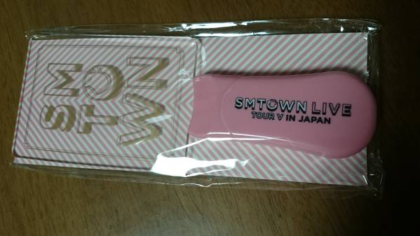 ★SHINee EXO S Junior…2016 SMTOWN V(5) 入場特典 ペンライト