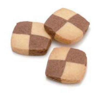 【お菓子】スクエアプレーン&ココア(1kg)お得(業務用にも)♪_画像1