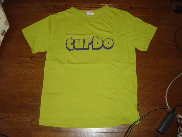 未使用UAウーア turboツアーグッズ Tシャツ