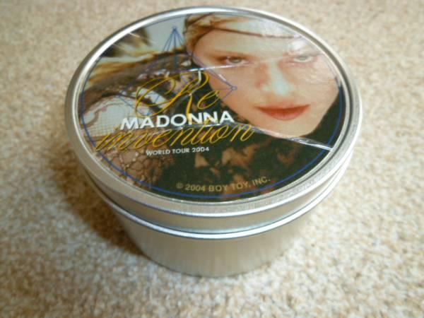 MADONNA マドンナ Re-Invention World Tour 2004  キャンドル缶 アーティスト公認ツアーグッズ ライブグッズの画像