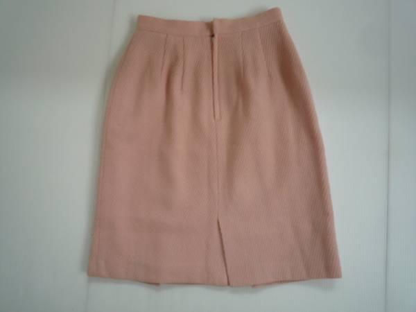 【お買い得!】 ■ CABIN ■ 台形スカート ピンク 膝丈 無地 M_画像2