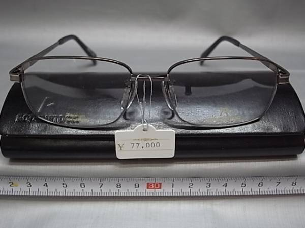 211□-5/メガネ めがね 日本製 ロウデンストック_画像1