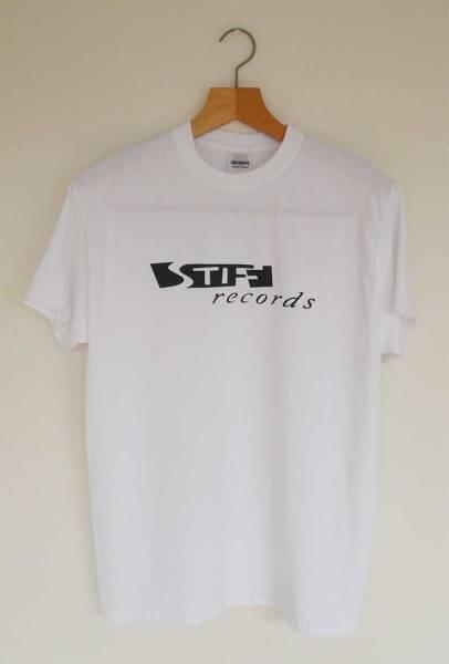 【新品】Stiff Records Tシャツ Mサイズ パブロック Pub Rock wh