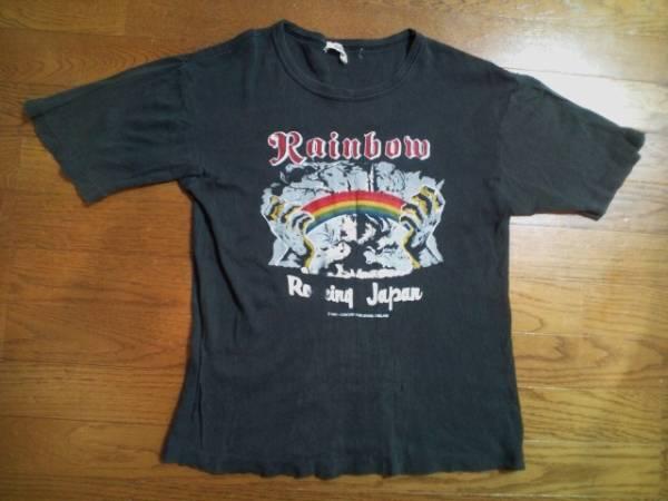 81年RAINBOW日本公演Tシャツ!DEEP PURPLE.BLACK SABBATH.MSG