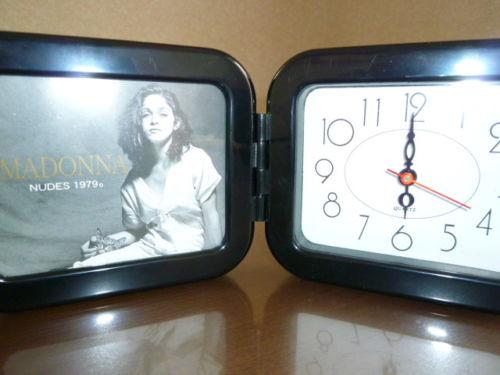 MADONNA マドンナ Nudes 1979 置時計 Photo & Clock 新品 ライブグッズの画像