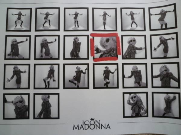 MADONNA マドンナ CELEBRATION 非売品 ICON FAN CLUB特典 リトグラフ ポスター ライブグッズの画像