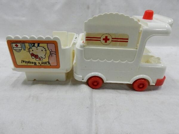HELLO KITTY ハローキティ〔救急車 119ばん〕中古 おもちゃ_画像2