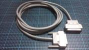 FUJITSU 富士通 GRANPOWER 5000 シリーズ 専用 サーバ プリンター ケーブル コード FMS-CBL711 長さ 3 M 規格 パラレル 端子 D-sub25