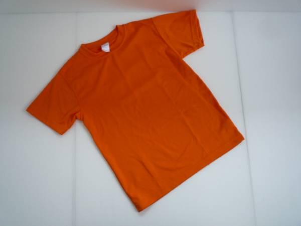 【良品!】 ● UNITED ATHLE ● 半袖Tシャツ オレンジ Small 文字