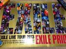 EXILE ポスター ATSUSHI TAKAHIRO MATSU USA MAKIDAI AKIRA