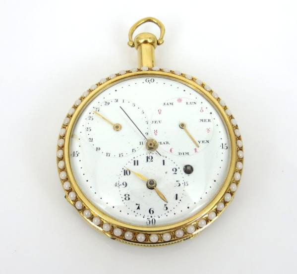 【ブレゲ Breguet】 パーペチュアルカレンダー 懐中時計 貴重