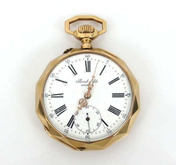 【Ferret & Fils Brenet】 1891年 ブレゲ Breguet 懐中時計 貴重