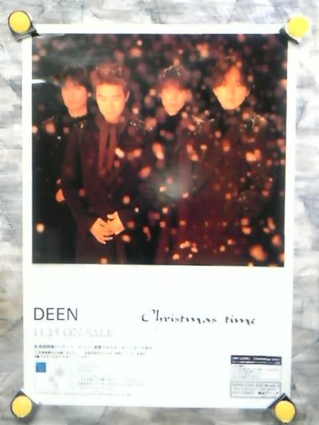 g1【ポスター/B-2】DEEN-ディーン/'99-Classics One WHITE Christmas time