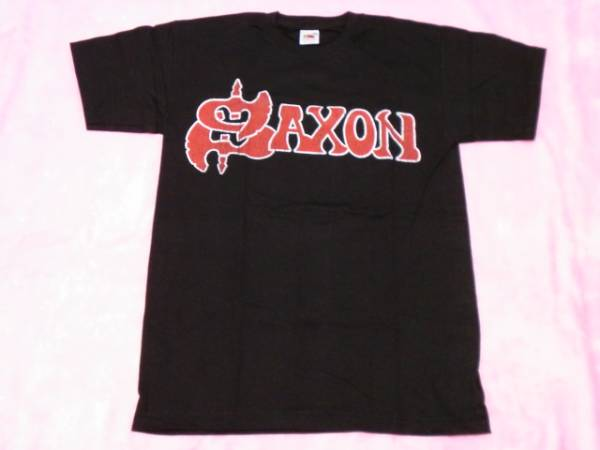 SAXON サクソン ロックTシャツ S バンドT ツアーT ロックT