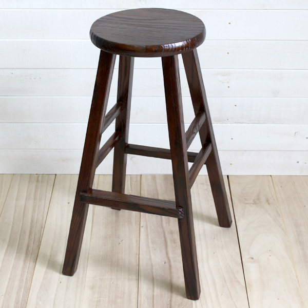 送料無料☆アジアン☆木製カウンターハイチェア72cm椅子☆カフェインテリア、エスニック、木製、花台、置き台