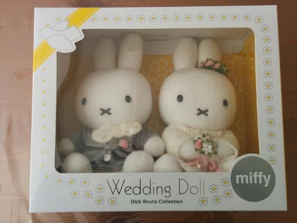 【美品 】ミッフィーウェルカムドール 結婚式 ぬいぐるみ グッズの画像