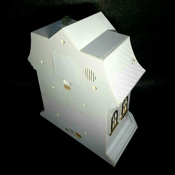 ミルキー*40周年記念 からくり時計 ペコちゃん 置き時計 非売品_画像3