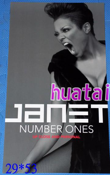 Janet Jackson ジャネット・ジャクソン コンサート告知ポスター